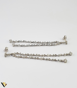 Cercei Aur 18k, Diamante cca. 0.20ct total, 7.90 grame (S)3