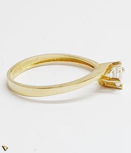 Inel din aur 14k, 1.67 grame (BC M)1
