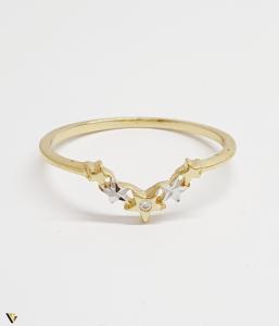Inel din aur 14k , 0.96 grame (BC M)1