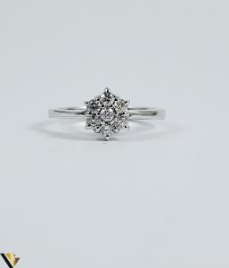 Inel aur 9k, Diamante cca 0,21 ct in total, 2,16 gr (sed)1