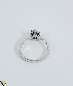 Inel aur 9k, Diamante cca 0,21 ct in total, 2,16 gr (sed)2