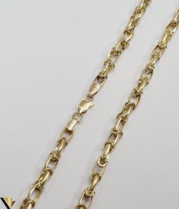 """Lant din aur 14k, 585 12.95 grame Lungime de 59 cm Latime de 5 mm Marcaj cu titlul """"585"""" Locatie HARLAU [3]"""