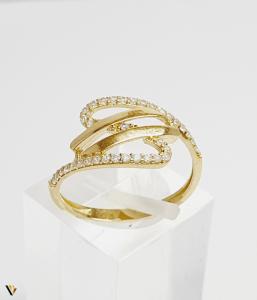 Inel din aur 14k , 1.58 grame (BC M)0