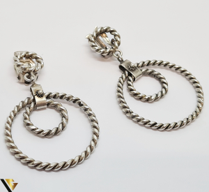 Cercei argint 925, 17.09 gr (IS)1