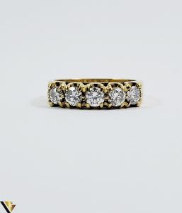 Inel aur 18 k, Diamante cca 0.75 ct in total, 4.12 gr (SED) [1]