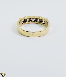 Inel aur 18 k, Diamante cca 0.75 ct in total, 4.12 gr (SED) [2]