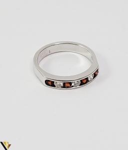 Inel Aur alb 14 k, Diamante cca 0.18 ct in total, 3.47 gr (SED)2