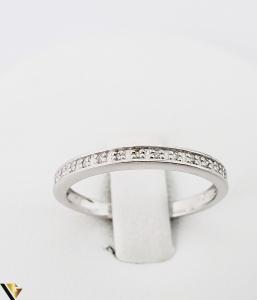 Inel Aur alb 9k, Diamante de cca. 0.08 ct, 1.41 grame (sed) [1]