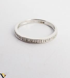 Inel Aur alb 9k, Diamante de cca. 0.08 ct, 1.41 grame (sed) [2]