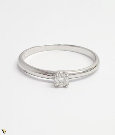 Inel aur 9K, Diamant de 0.08 ct, 1.05 grame (BC M) [1]