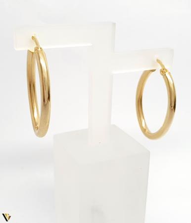 Cercei aur 14K , 2.64 grame (BC M) [1]