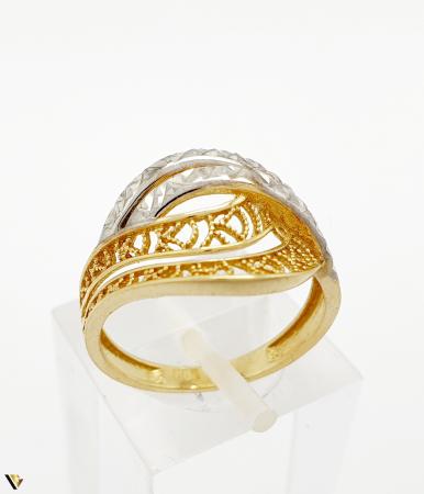 Inel din aur 14k , 2.41 grame (BC M) [0]