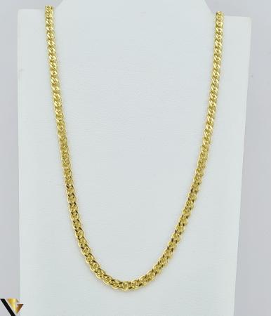"""Lant din aur 14k, 585 3.29 grame Lungime de 50 cm Latime de 2.5 mm Marcaj cu titlul """"585"""" Locatie HARLAU [0]"""