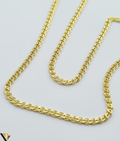 """Lant din aur 14k, 585 3.29 grame Lungime de 50 cm Latime de 2.5 mm Marcaj cu titlul """"585"""" Locatie HARLAU [2]"""