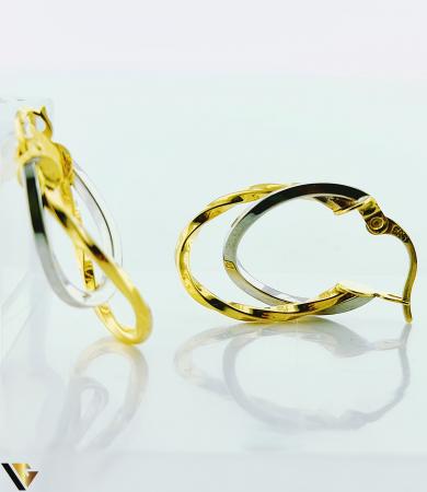 Cercei Aur 14K, 1.79 grame (BC R) [2]