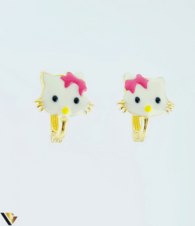 Cercei Aur 14K, copii, Hello Kitty, 1.53 grame  (BC R) [0]