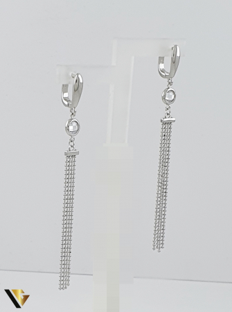 Cercei argint 925, 5.43 grame (R) lung lant [0]
