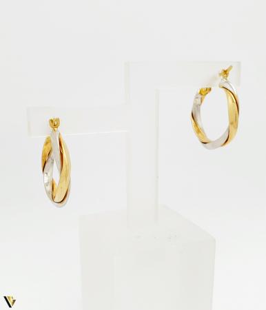 Cercei aur 14K , 2.03 grame (BC M) [1]