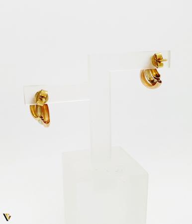 Cercei aur 18K , 1.74 grame (BC M) [1]