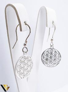 Cercei Argint 925, Mandala, 4.42 grame (BC R)0