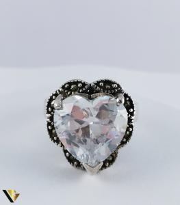 Inel Argint 925, Inima, 10.60 grame (R)2