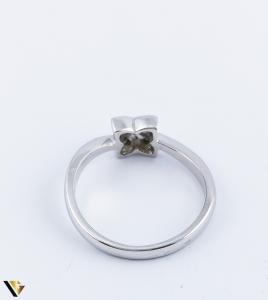 Inel Aur Alb 14k, Diamante de cca. 0.05 ct, 3.54 grame (R) [2]