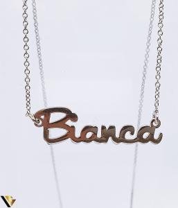 "Lant cu nume ""Bianca"", Argint 925, 2.36 grame (BC R) [1]"