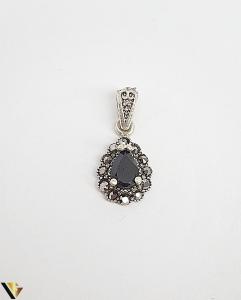 Pandantiv Argint 925, Marcasite, 2.62 grame0