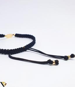 Bratara Aur 14k, Snur textil, 0.81 grame (BC R) [1]