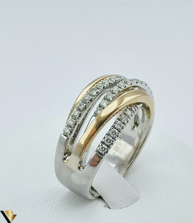 Inel Aur 18k, Diamante de cca. 0.42 ct, 10.06 grame (sed) [1]