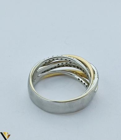 Inel Aur 18k, Diamante de cca. 0.42 ct, 10.06 grame (sed) [4]