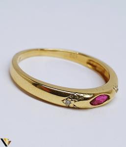 Inel Aur 14K , Diamante cca. 0.01 ct, 2.02 grame (BC R)1