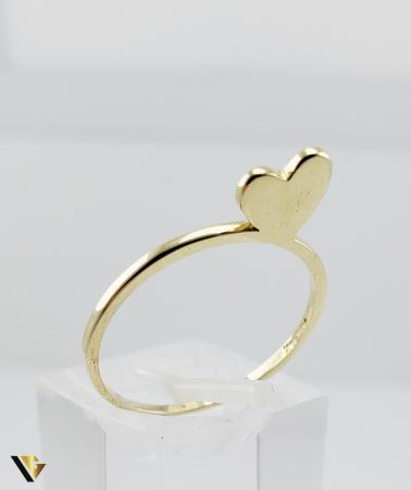 Inel Aur 14k, 1.44 grame (R) inima [0]
