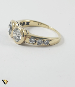 Inel Aur 14k, Diamante de cca 1.60 ct in total, 3.25 grame3