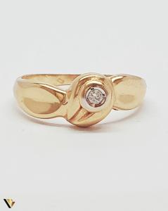 Inel din aur 18k , Diamante , 2.80 grame (BC M) [1]