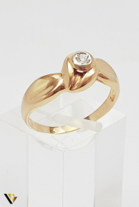 Inel din aur 18k , Diamante , 2.80 grame (BC M) [0]