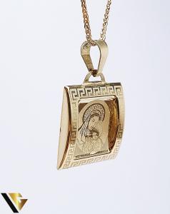 Pandantiv Aur 14K, 0.91 grame0