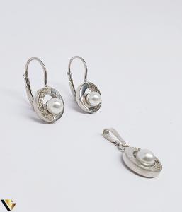 Set argint 925 format din cercei si pandantiv, 4.09 grame (BC R) [1]