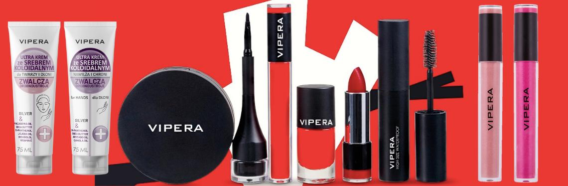 Noutati de make-up si ingrijire marca VIPERA