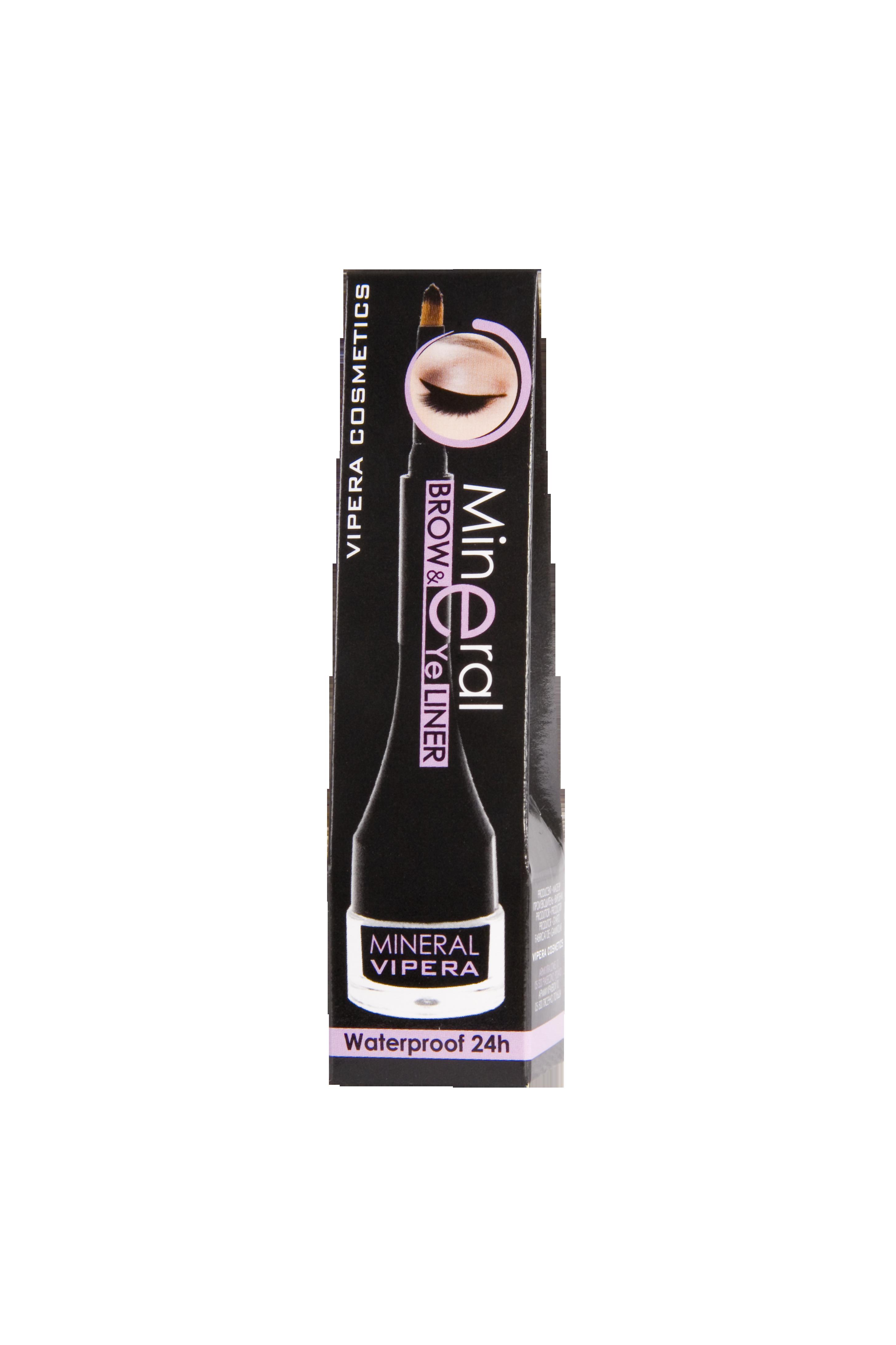 Creion-tus rezistent la apa pentru ochi si sprancene - Mineral [1]