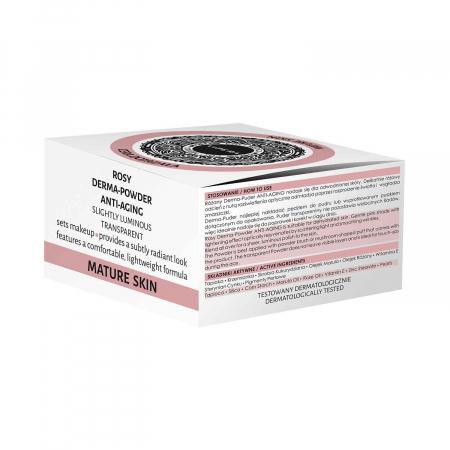 Pudra pentru piele Cos-Medica Rosy cu efect anti-aging [0]