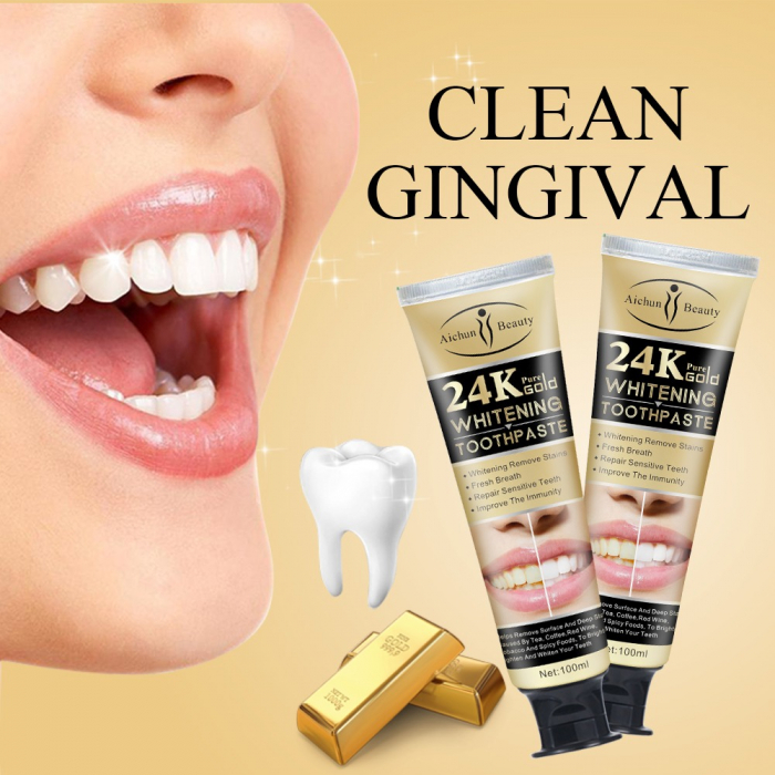 24K Pure Gold Toothpaste [5]