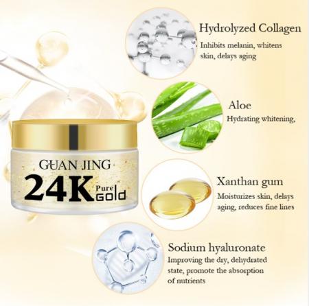 24K Gold Collagen Face Cream [3]