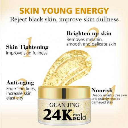 24K Gold Collagen Face Cream [2]