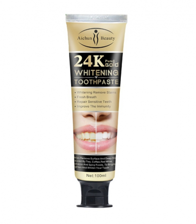24K Pure Gold Toothpaste [2]