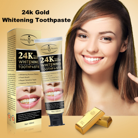 24K Pure Gold Toothpaste [4]
