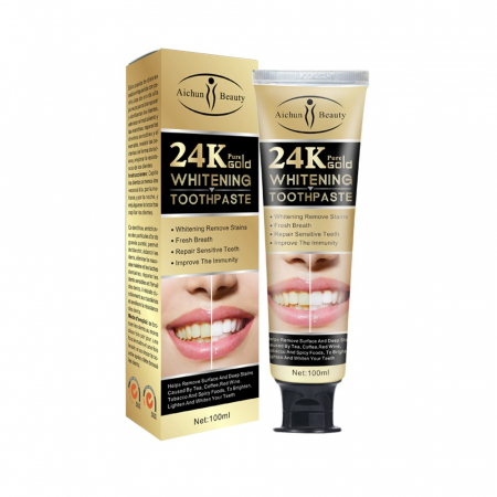 24K Pure Gold Toothpaste [1]