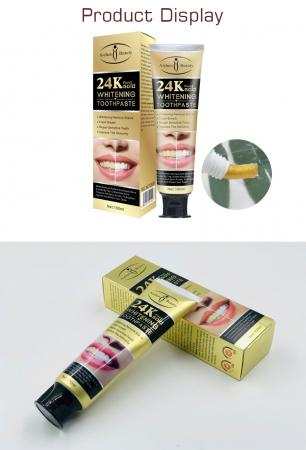 24K Pure Gold Toothpaste [3]