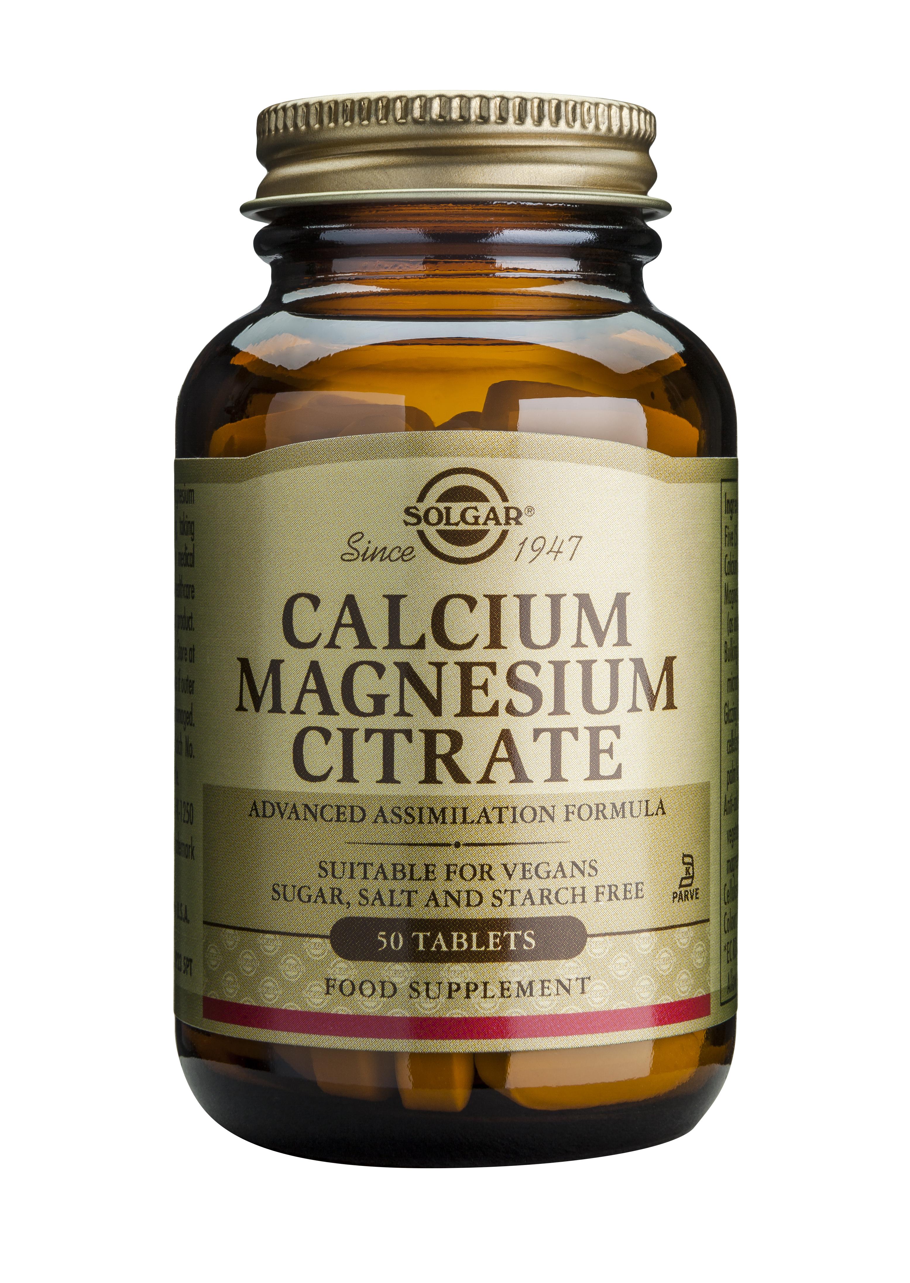 CALCIUM MAGNESIUM CITRATE 50tablete [0]