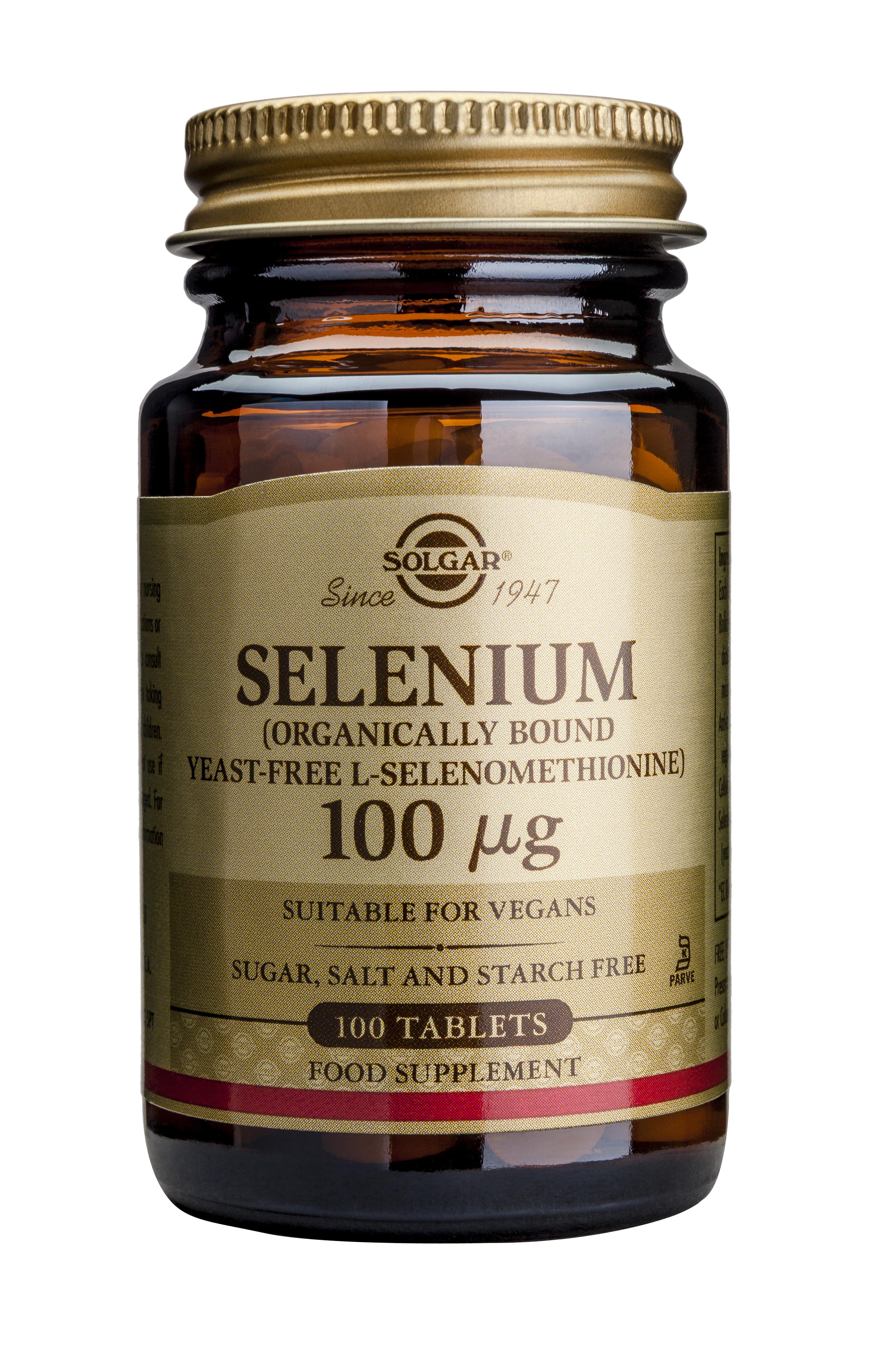 Selenium 100ug 100 tablete [0]